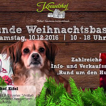Hunde-Weihnachtsbasar Krewelshof 2020