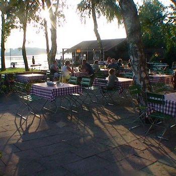 Restaurant mit Blick auf den Waginger See – Seegasthaus Wagner