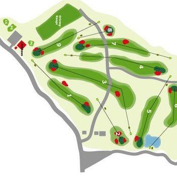 Golfen mit Hund in Niederbayern