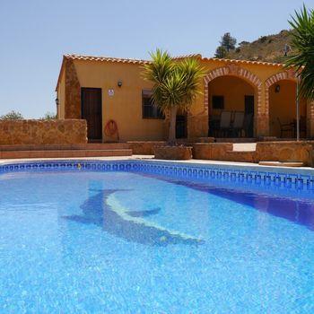 Urlaub Costa Calida mit Hund – Villa Perin POOL WLAN ALLEINLAGE